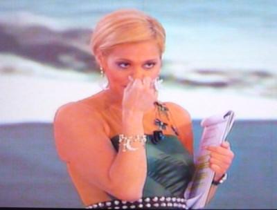 Simona Ventura: DSquared2 per la quarta puntata dell'Isola dei Famosi