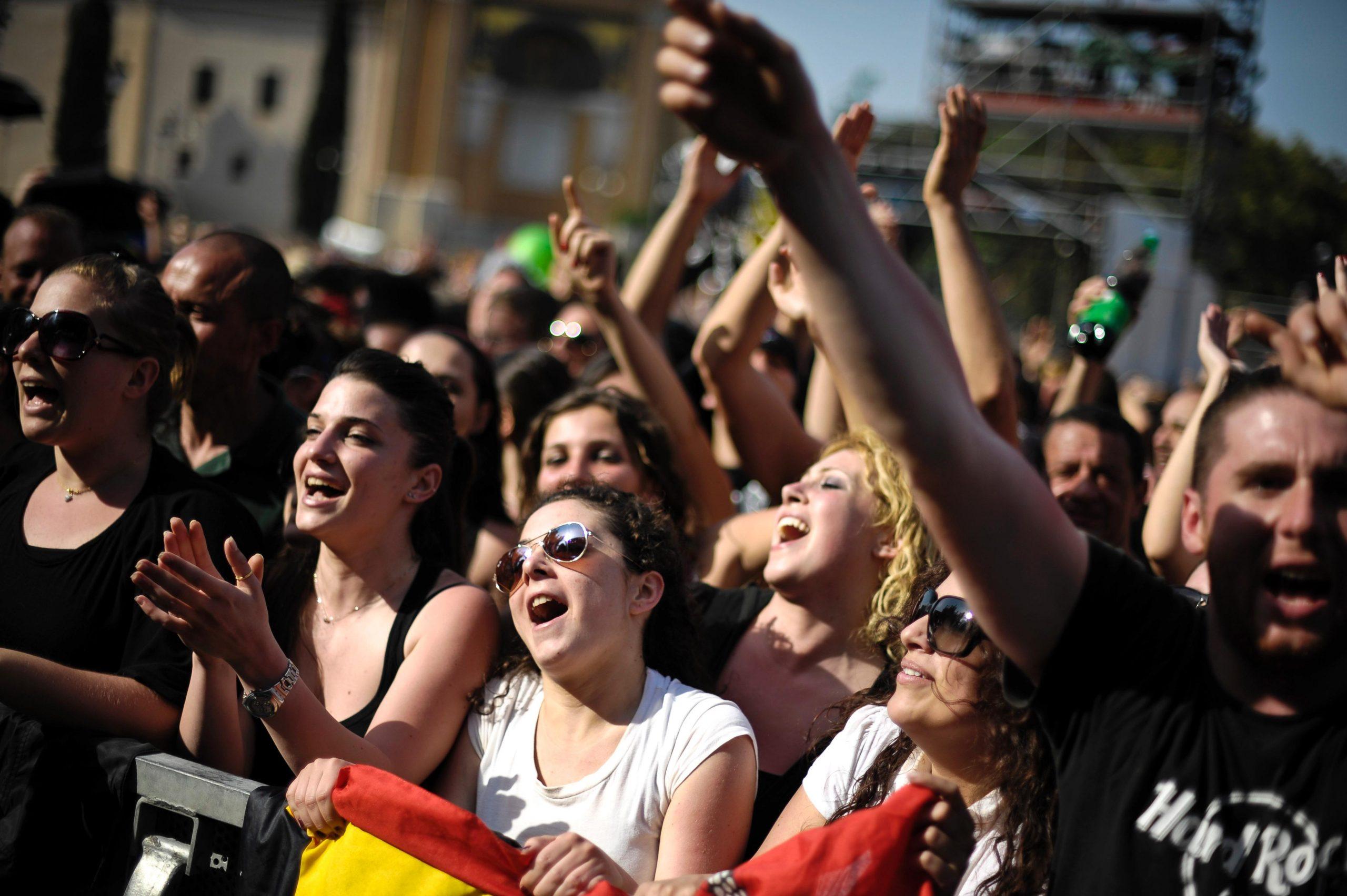 Concerto del Primo Maggio a Roma: i partecipanti
