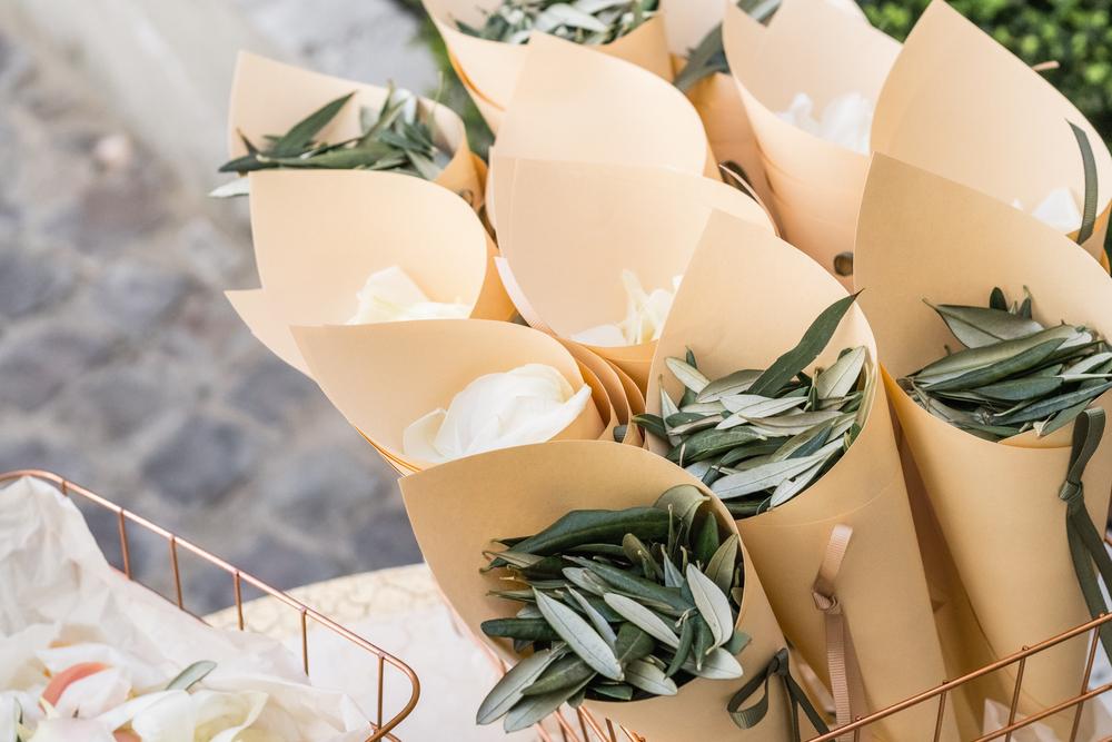 Bomboniere fai da te: il cono per il matrimonio