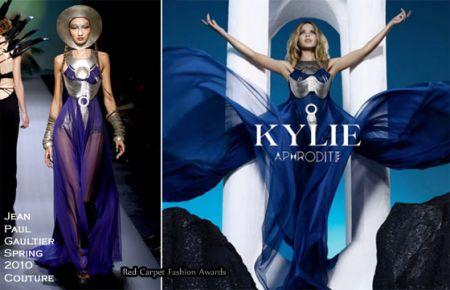 "Kylie Minogue: Jean Paul Gaultier per la copertina di ""Aphrodite"""