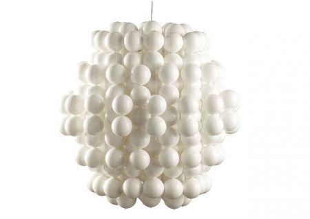 Arredamento moderno: lampadario con palline