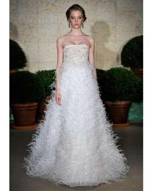 Oscar de la Renta sposa abito