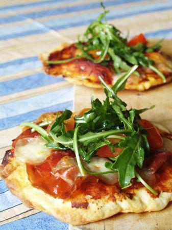 Ricette Facili: pizzette alla rucola