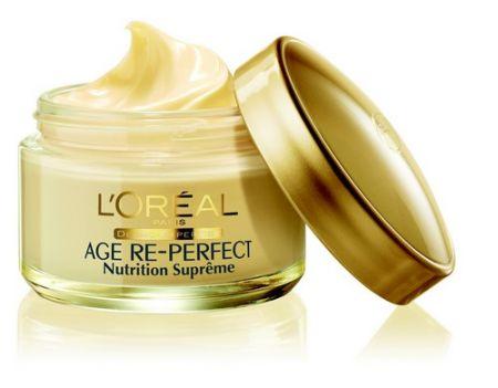 Antiage: L'Oréal Paris presenta Age Re-Perfect Nutrition Suprême