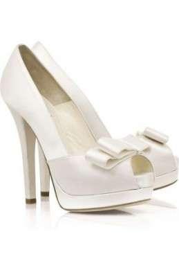 Fendi le scarpe per il matrimonio