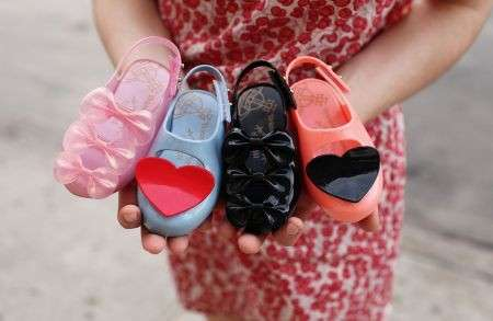 Vivienne Westwood Anglomania per Melissa per baby fashioniste