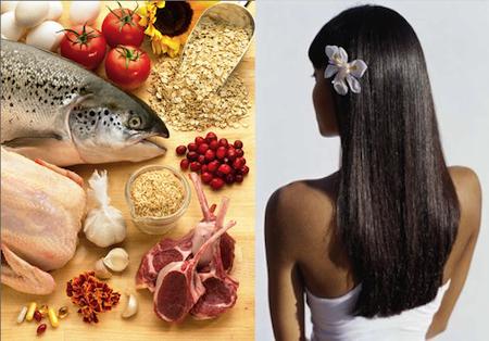dieta capelli sani