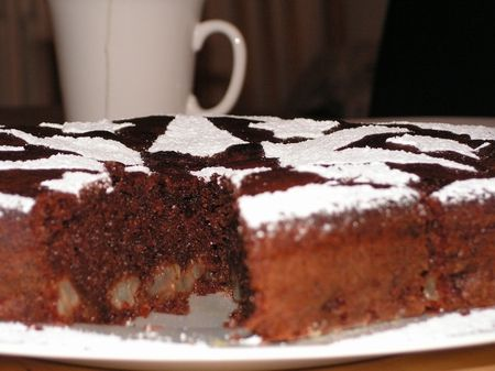 Ricette per bambini: torta Nutella e pere