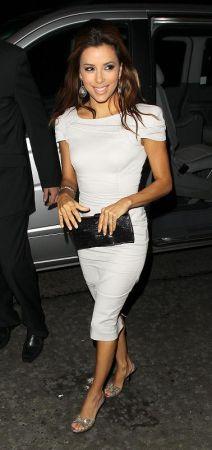 Eva Longoria: Ferragamo e Victoria Beckham