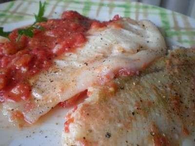Ricette light: platessa con pomodorini e patate