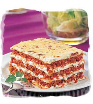 Carboidrati nella dieta: le lasagne light