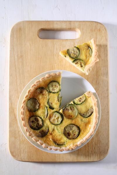 Torte salate: il quiche con zucchine e parmigiano
