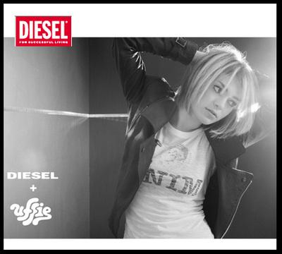 Diesel: in arrivo la capsule collection di Uffie
