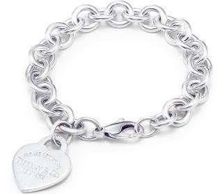 Gioielli Tiffany braccialetto con cuore