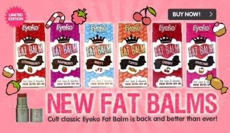 Trucco labbra: i Fat Balm di Eyeko