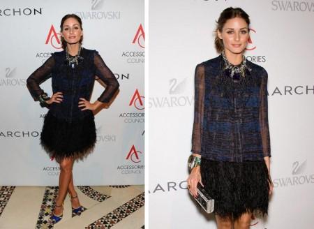Olivia Palermo con look Giambattista Valli