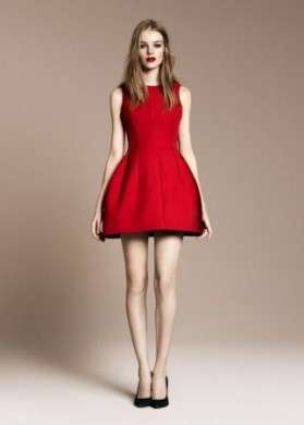 Zara Evening Collection rosso