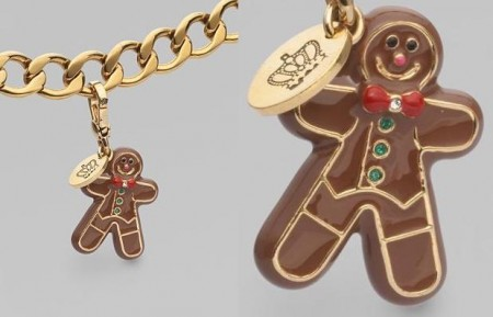 juicy couture charm gingerbread