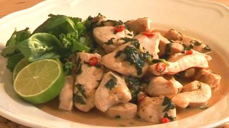 Pollo alla thailandese San Valentino