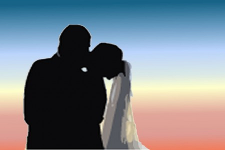 biglietto per due sposi