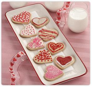 Ricette San Valentino: biscottini romantici