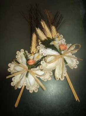 Bomboniere fai da te: il bouquet di spighe