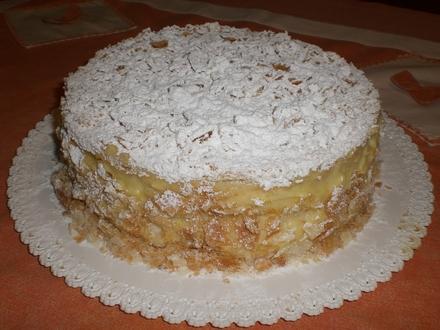 Compleanno bambini: torta millefoglie facile