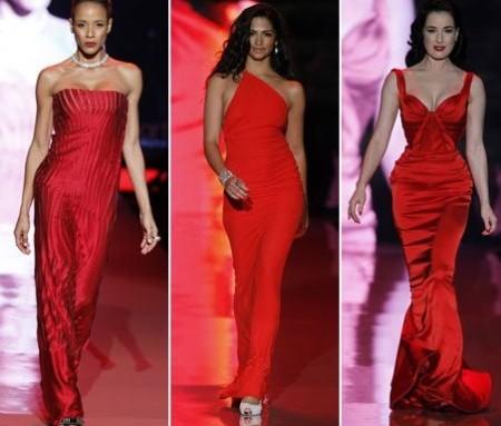 New York Fashion Week: le star amano il rosso