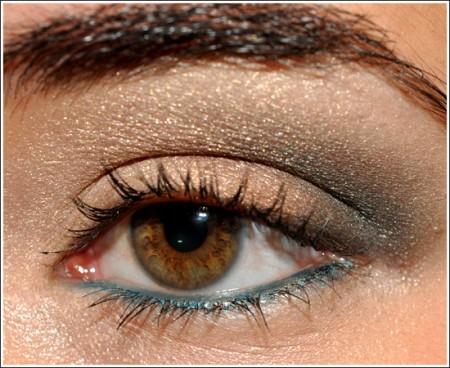 Trucco occhi: azzurro e marrone per la primavera