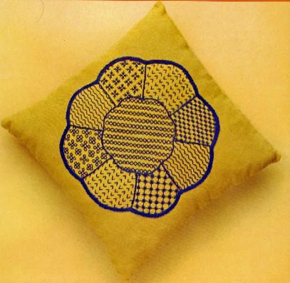Idea cucito: realizziamo una fodera ricamata per il cuscino