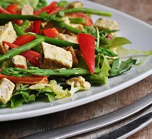 Ricette light: insalata di asparagi