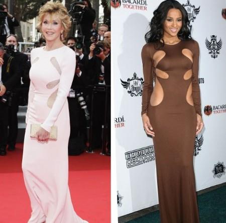 Abito Emilio Pucci: Ciara o Jane Fonda?