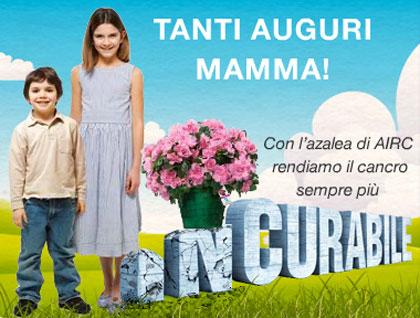Festa della Mamma: torna l'azalea dell'Airc
