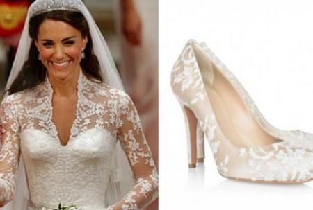 Royal Wedding: anche le scarpe della sposa firmate Alexander McQueen