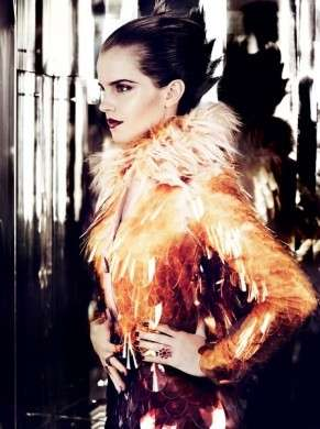 Emma Watson Per Vogue Abito Prada