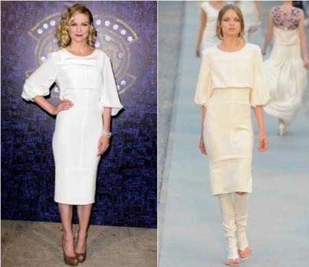 Kirsten Dunst sceglie ancora il total white Chanel a Istanbul