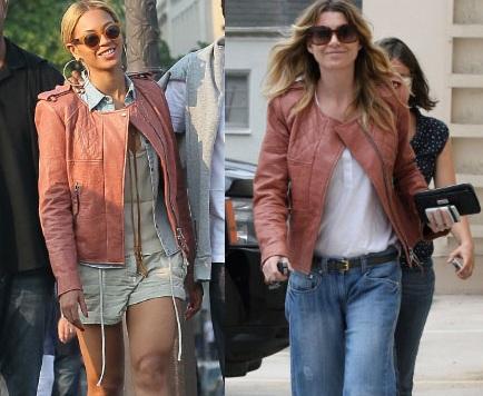 La giacca di Isabel Marant sta meglio a Beyonce Knowles o a Ellen Pompeo?