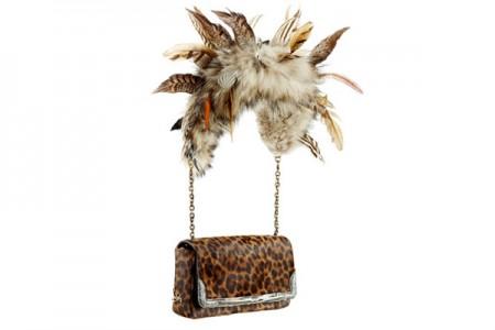Christian Louboutin e l'animalier all'ennesima potenza: ecco l'esotica borsa Artemis