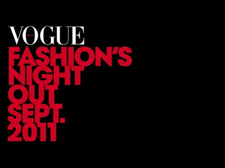 Il Vogue Fashion's night out 2011 sbarca in Italia con un doppio appuntamento!