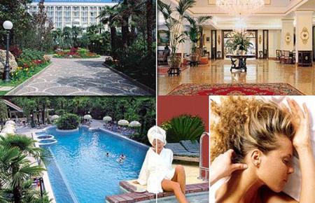 Vacanze negli Hotel Spa di Abano Terme dove si effettua la Thermal Jasmine Therapy