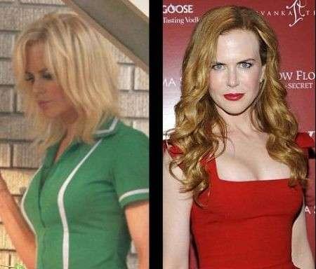 Nicole Kidman nuovo look