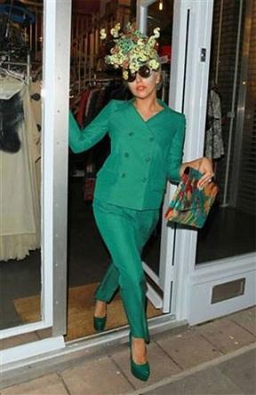 Lady Gaga in Moschino