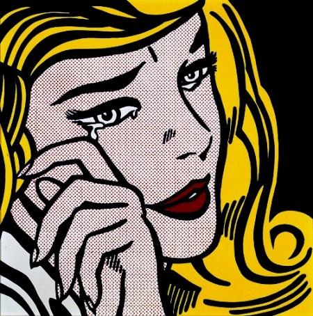 ragazza POP Art Roy Lichtenstein