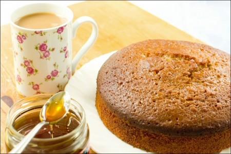 torta integrale miele