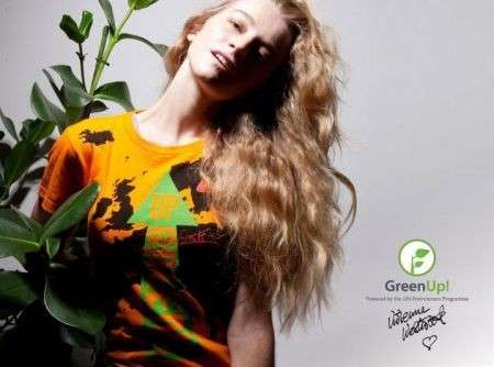 Vivienne Westwood Per Green Up Tshirt Adv