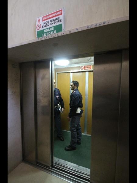 Decesso anziana ascensore ospedale Sassari