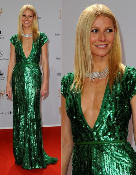 Gwyneth Paltrow Elie Saab Bambi Awards