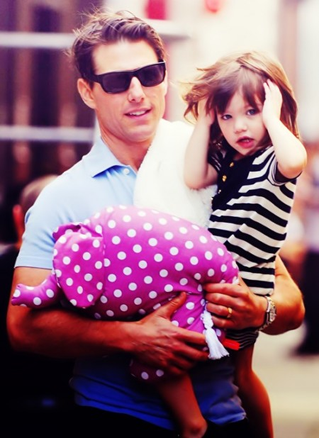 Suri e Tom Cruise