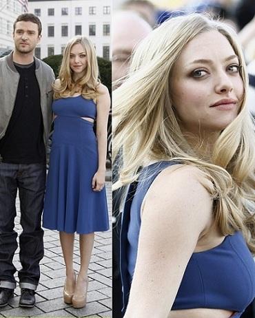 Amanda Seyfried ama il blu, eccola a Berlino con un abito Lyn Devon sul red carpet!