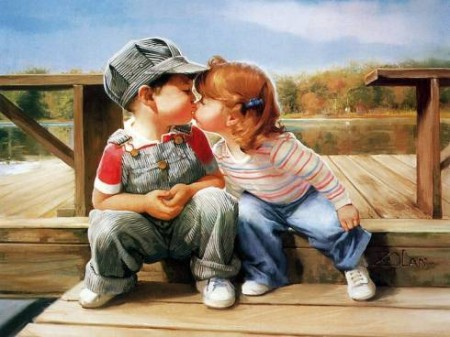 bacio amore frasi poesie gibran